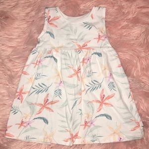 Other - Old Navy White Floral Dress or Cover Up